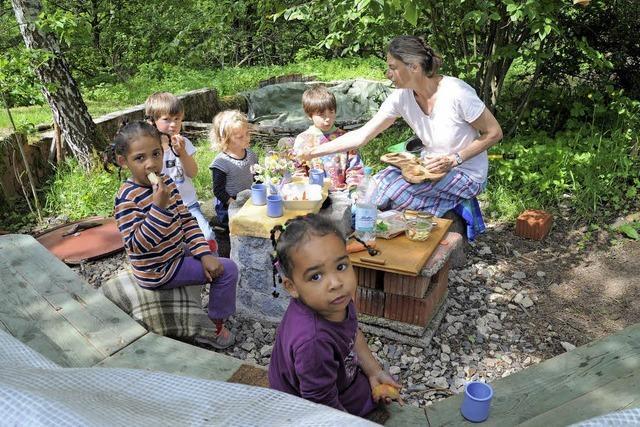 Die Rosenkinder wollen ein Kindergarten werden