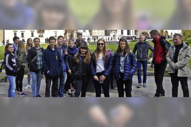 Junge Gäste aus Polen