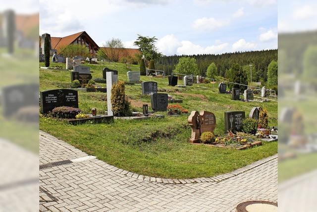 Neue Strukturen für die Friedhöfe