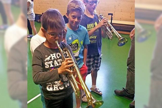 Musikvereine im Schulunterricht