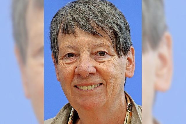 Barbara Hendricks sieht Europa in der Führungsrolle