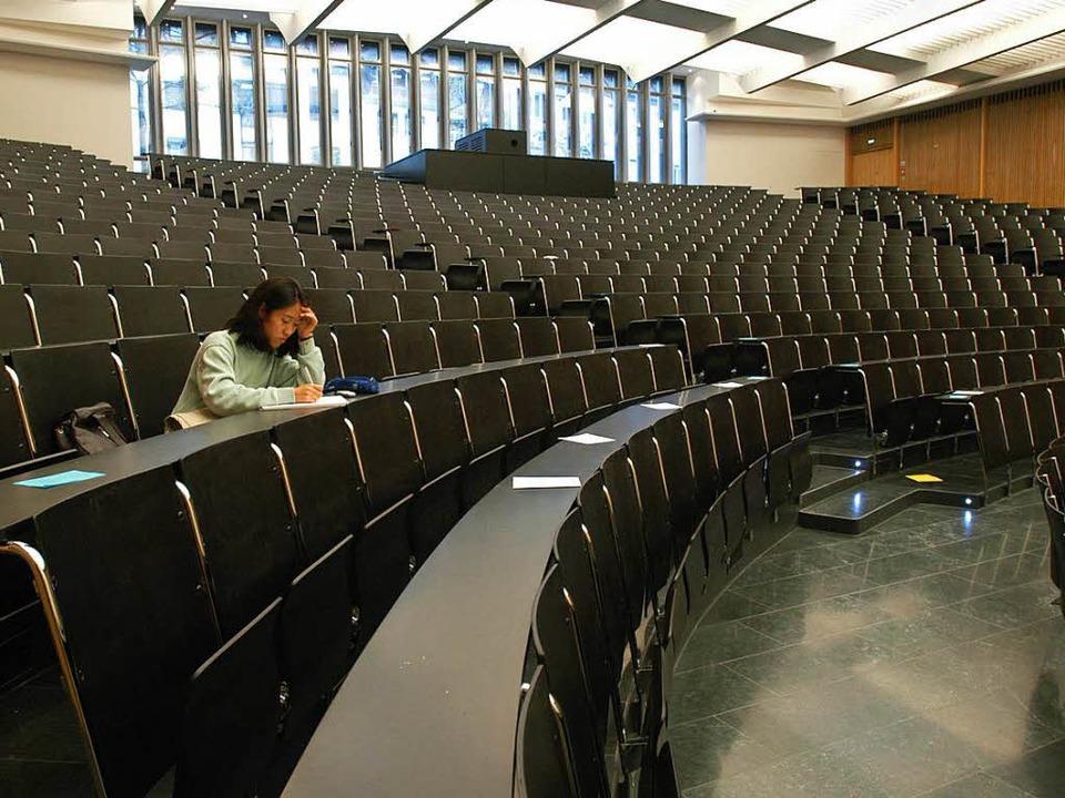 Jeder dritte Student bricht das Studium ab. (Symbolbild)    Foto: Ingo Schneider