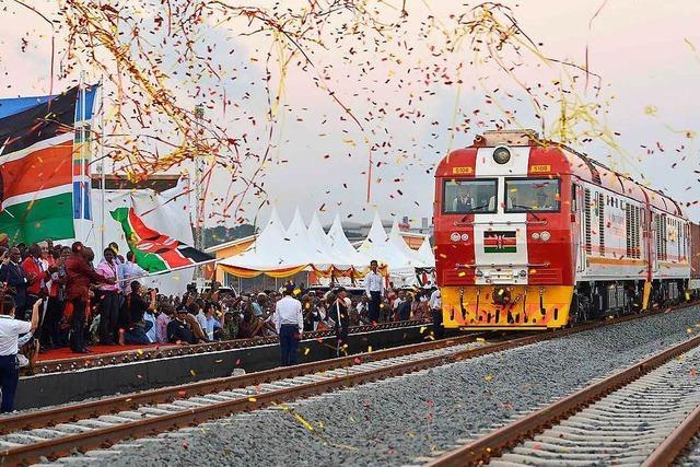 In Kenia wird die erste Bahnlinie seit der Unabhängigkeit eröffnet