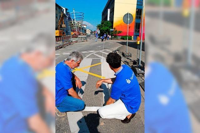 Emmendinger Stadtlauf fehlen 62 Meter wegen einer Baustelle