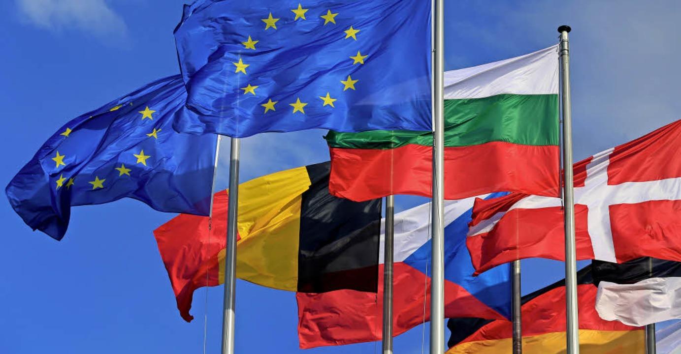 <BZ-FotoAnlauf>Droste: </BZ-FotoAnlauf>Für die 10a wehte ein europäischer Wind.   | Foto: dpa