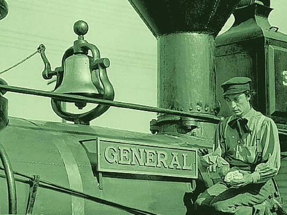 "Szene aus ""The General"" mit Buster Keaton   | Foto: promo"