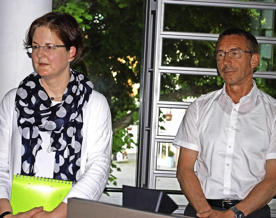 Jutta Gutmann berichtete den Stadträte... zum Schuljahresende in den Ruhetand.   | Foto: Sylvia-Karina Jahn