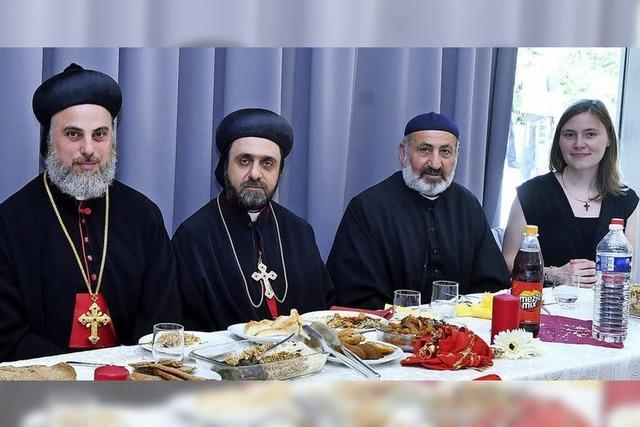 Erzbischof der Aramäer in der Martin-Luther-Kirche
