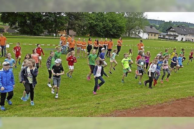 Schüler zeigen ganz tolle sportliche Leistungen