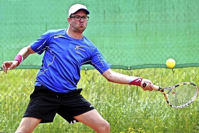 Björn Müller vom TC Lörrach verliert das Finale