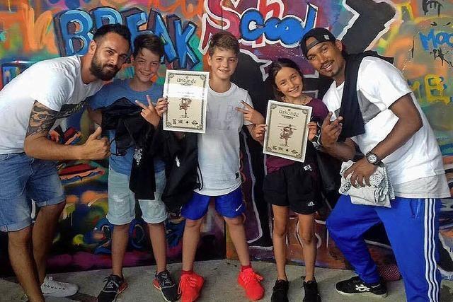 Lörrach: Schul-Contest im Breakdance