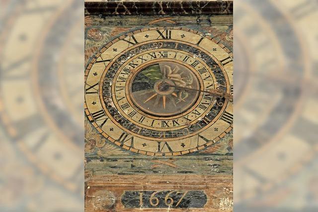 Eine besondere Uhr für Ebbe und Flut