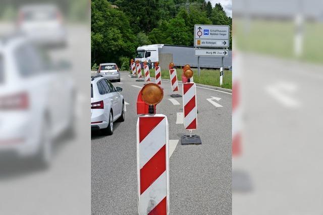 Der Bypass wartet auf Bad Säckingen