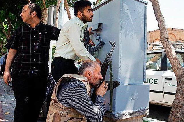 IS reklamiert Teheraner Anschläge für sich