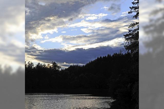 Schwarzer See im schwarzen Wald