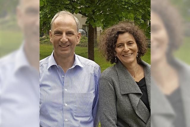 Dagmar Betting-Nagel und Armin Hasenfratz sprechen über besondere Naturräume im Landkreis Breisgau-Hochschwarzwald