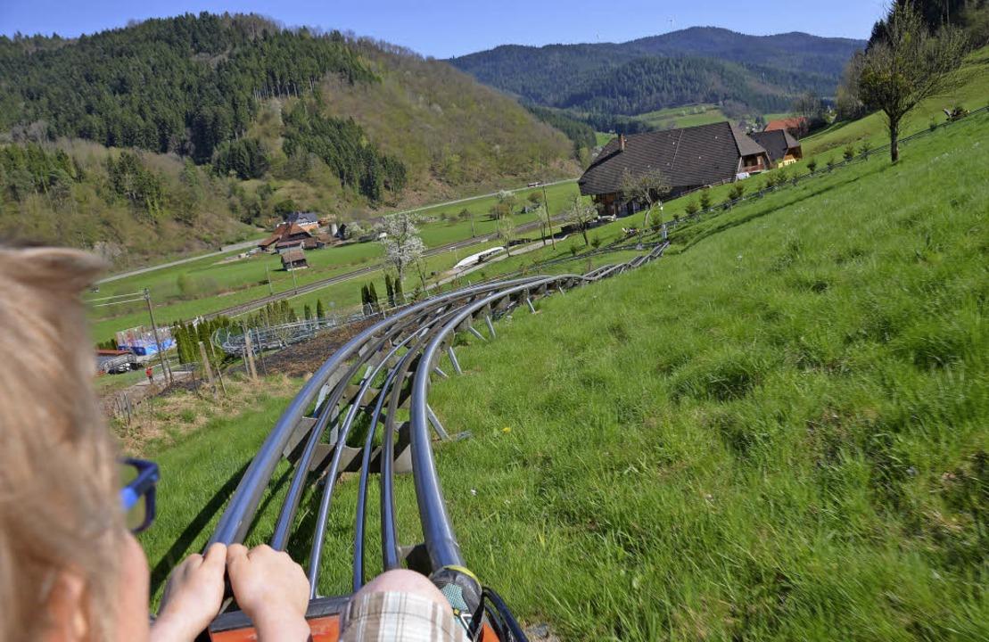 In Gutach auf dem Schwarzwaldschnellkurs   | Foto: ANita Fertl