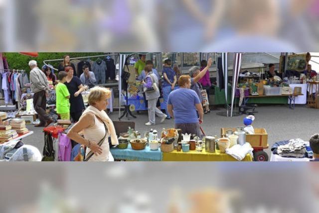 Gewerbeverein veranstaltet 13. Straßenflohmarkt