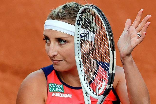 French Open: Ostapenko trifft auf Bacsinszky