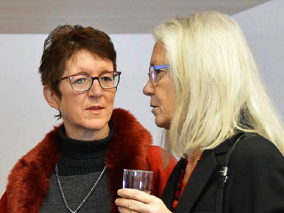 Eveline Klein, Ortsvorsteherin Minseln (links)  | Foto: Horatio Gollin