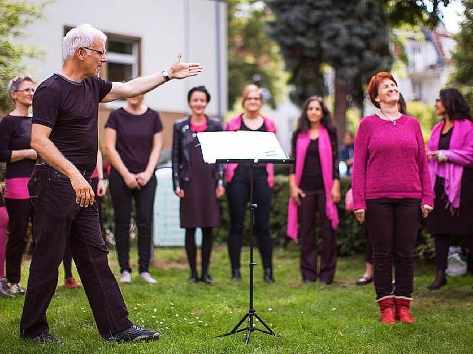 Chöre, Bands und Einzelkünstler treten beim Festival auf.    Foto: Janos Ruf