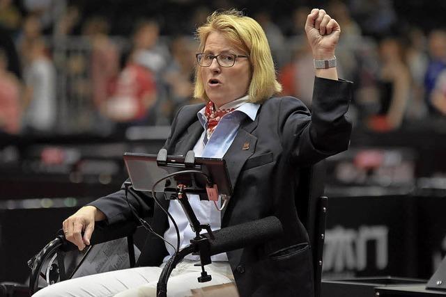 Interview mit Tischtennis-Schiedsrichterin Sibylle Maas über ihren WM-Einsatz
