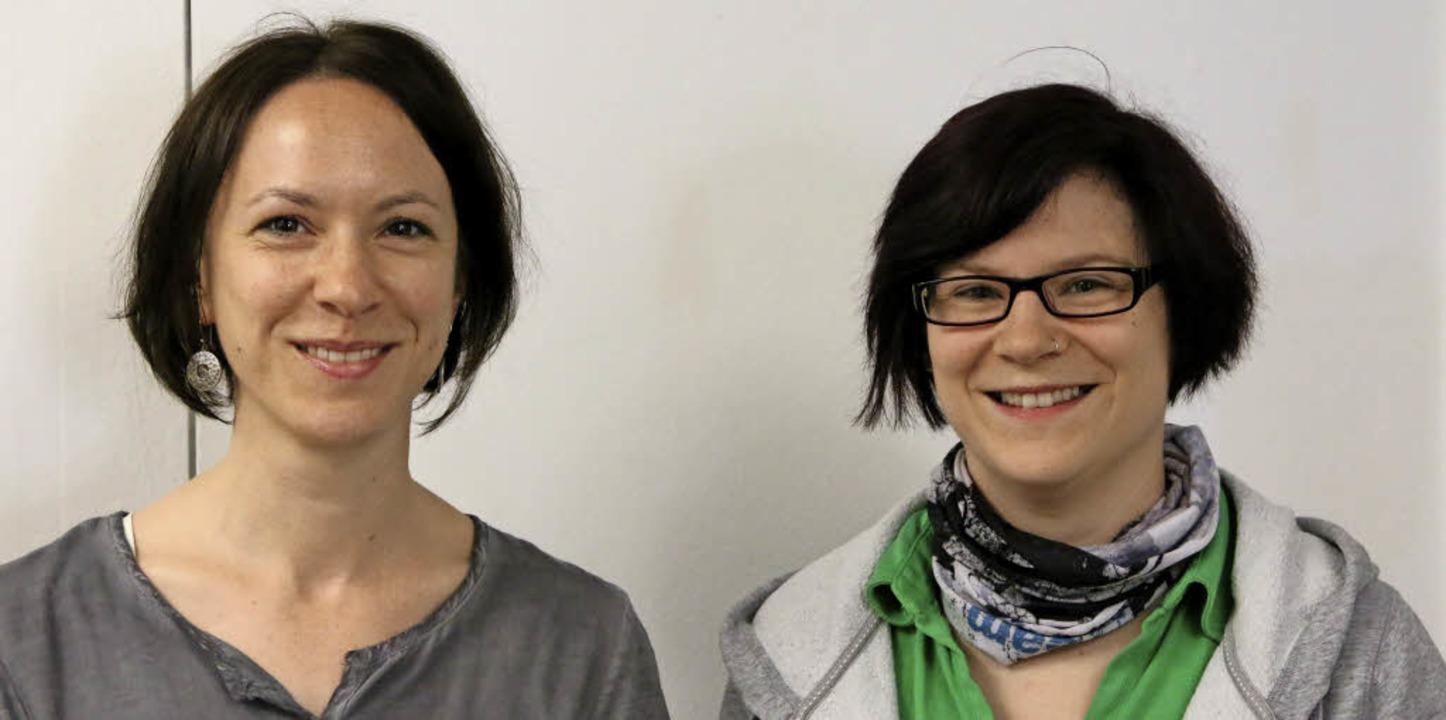 Christina Ehnes (links) von der Diakon... psychisch Kranken verbringen wollen.   | Foto: Katharina Bartsch