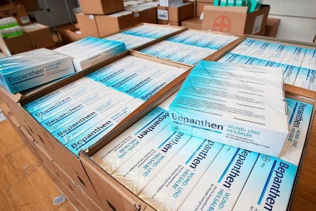 Bepanthen-Salbe fehlt in Apotheken in Südbaden