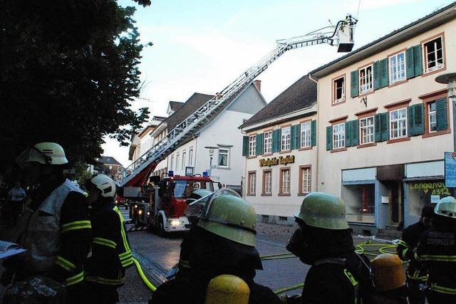 Großbrand in Schopfheim: Haftbefehl erlassen