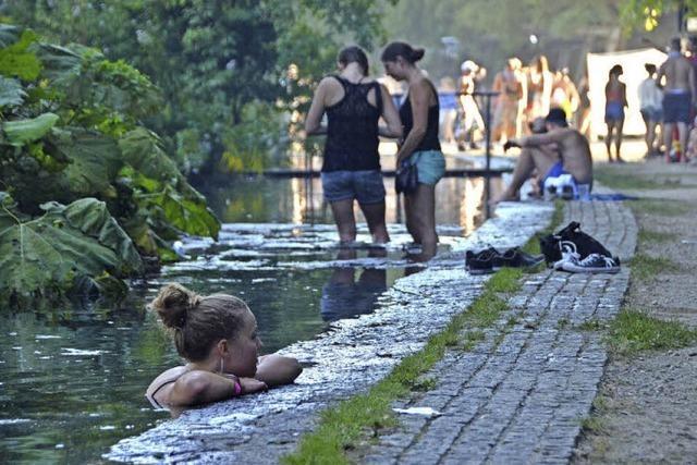 Bis heute faszinieren die Wassergärten
