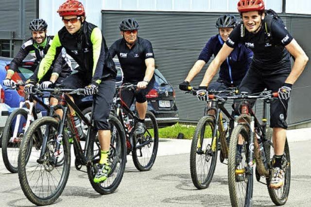 Mountainbiken von den Profis lernen