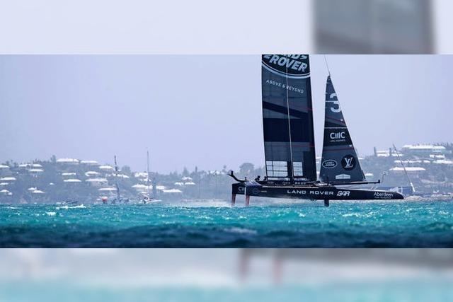 Der America's Cup vor Bermuda