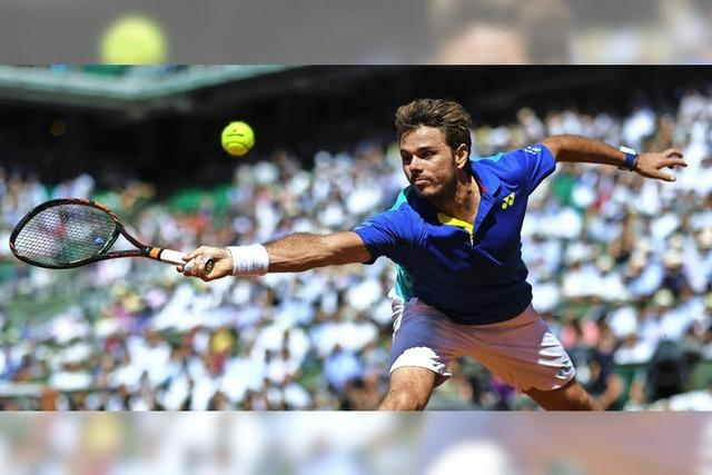 Wawrinkas spektakulärer 4-Stunden-Marathon gegen Andy Murray