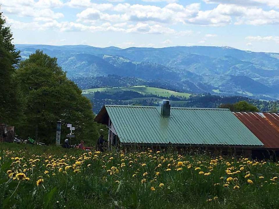 Idyllisch gelegen: die Gummenhütte am Kandel.  | Foto: Privat