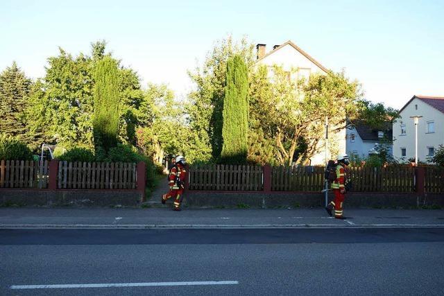 Brennender Wasserkocher löst Alarm aus