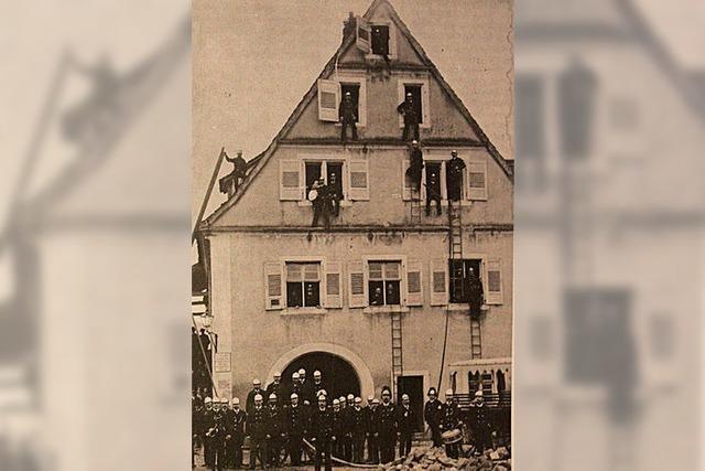 Erste Feuerwehr war nicht freiwillig