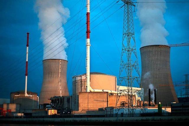 Dutzende Risse im Atomkraftwerk Tihange 2