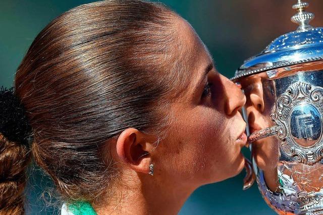 Überraschung: Jelena Ostapenko gewinnt French Open