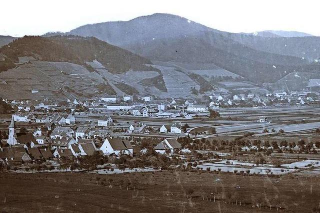 Als die Freiburger Wiehre noch ein Bauerndorf war
