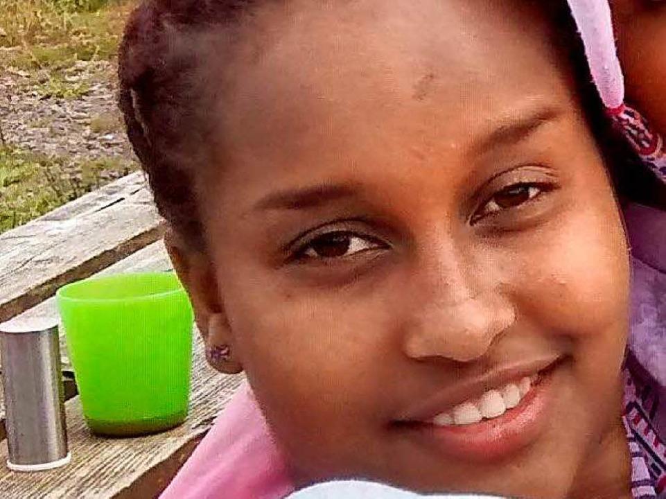 Das verschwundene Mädchen wird nun per Foto von der Polizei gesucht.    Foto: Polizei Freiburg