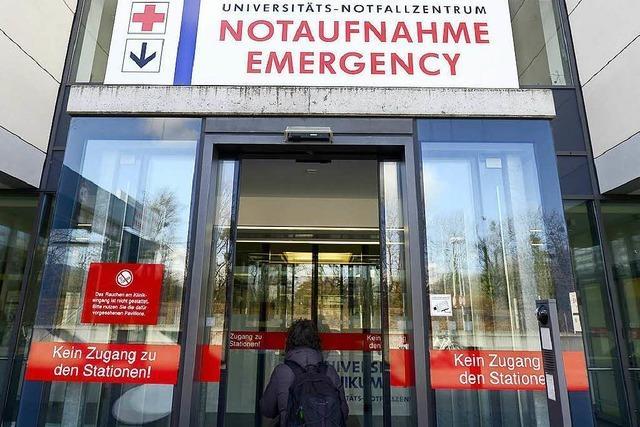 Freiburger Notaufnahme am Limit – wegen Patienten aus Kreis Waldshut