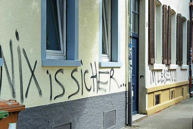 Was ein Sprayer zum Graffitiproblem im Sedanquartier sagt