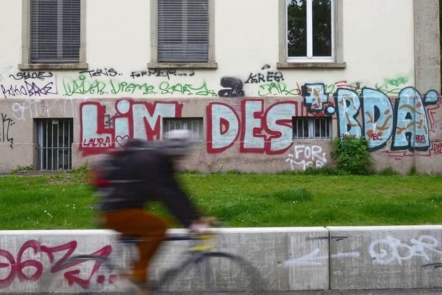 Illegale Sprayer sind in Freiburg ein Problem – Jährlich um die 500 Fälle