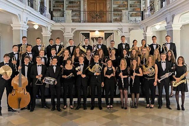 Sinfonische Jugendblasorchester Baden-Württemberg zu Gast in Badenweiler