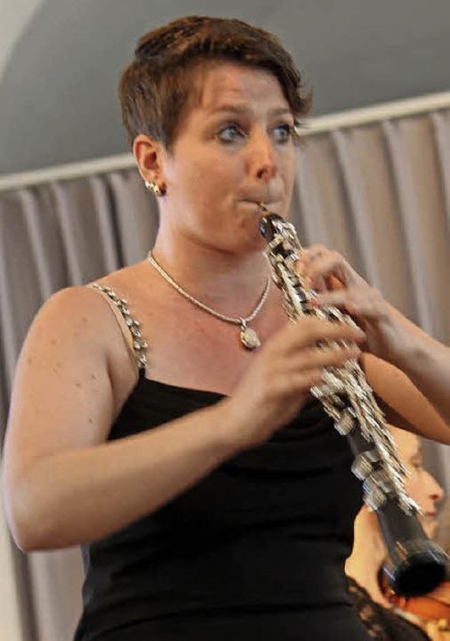 Beeindruckend: Das Oboen-Solo von Stephanie Schwartz  | Foto: Dagmar Barber