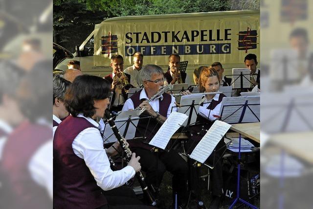 Erst Konzert im Zwingerpark, dann in Pietra