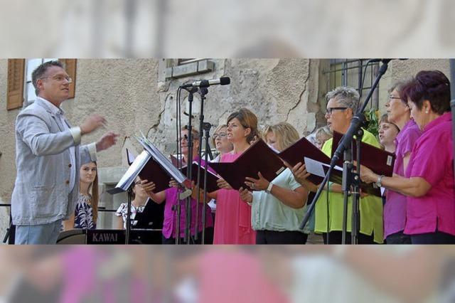 Sängerbund lädt zum Open-Air-Musikabend