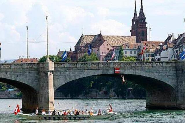 Während des Umbaus fahren gratis Fähren in Basel