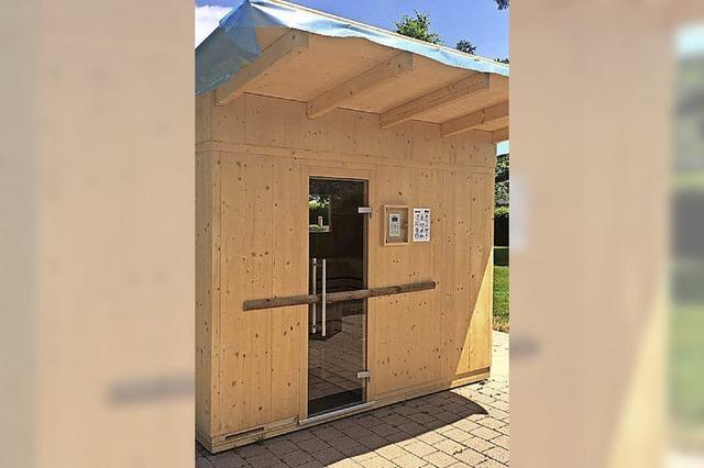 Lörrach: Sauna im Freibad - für Schlecht-Wetter-Schwimmer