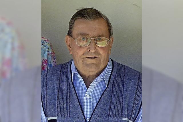 Anton Joos feierte 90sten Geburtstag